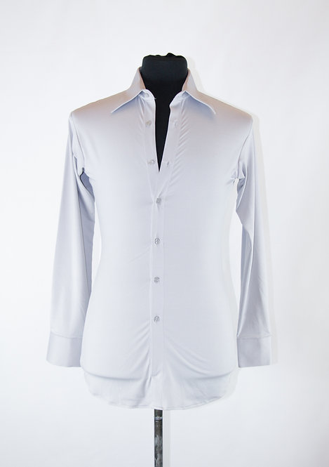 Basic Stretch Button Up Shirt