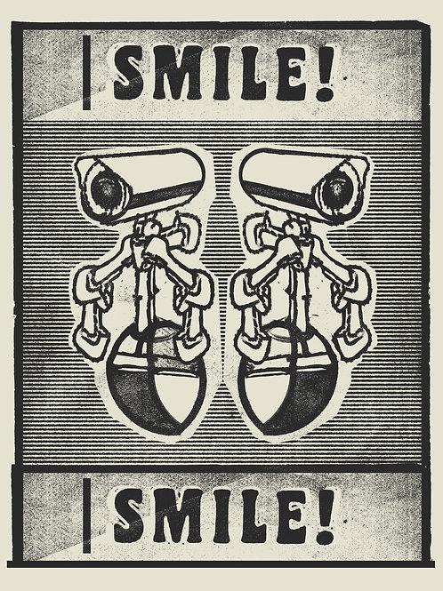 Smile! (BW)