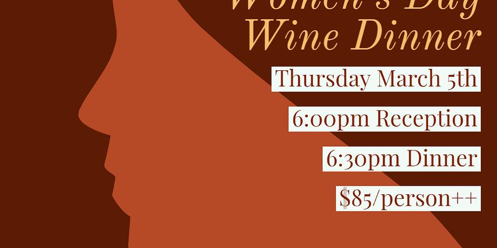 Women's Wine Guild of Colorado Wine Pairing Dinner at Bird & Jim