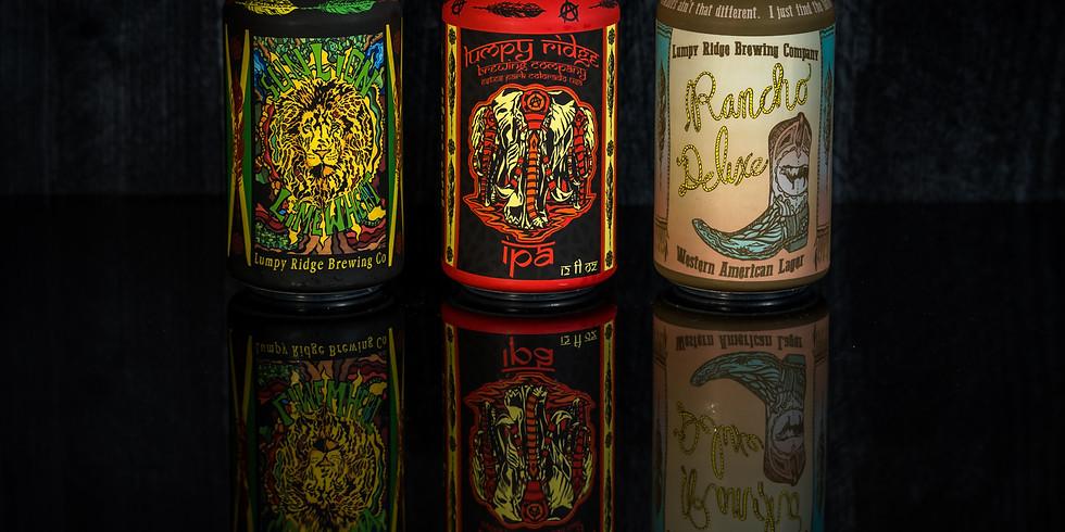 Bird & Jim & Lumpy Ridge Brewery...The Vinyl Series Continues