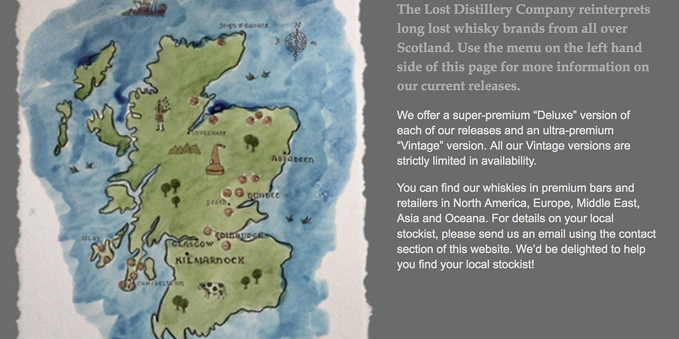 Scotch Pairing Dinner With Lost Distillery