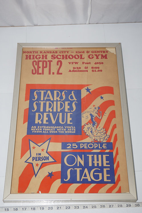 North Kansas City High School Dance Poster