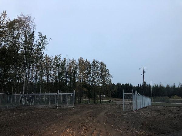 RV storage gate