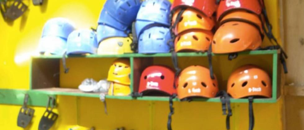 Tamarindo Guanacaste Canopy zipline adventure helmets