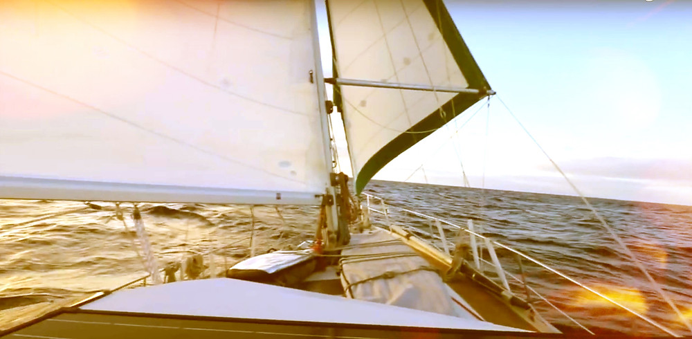 sailboat Kailani adventure wing-on-wing cruising amel maramu 46 baja haha