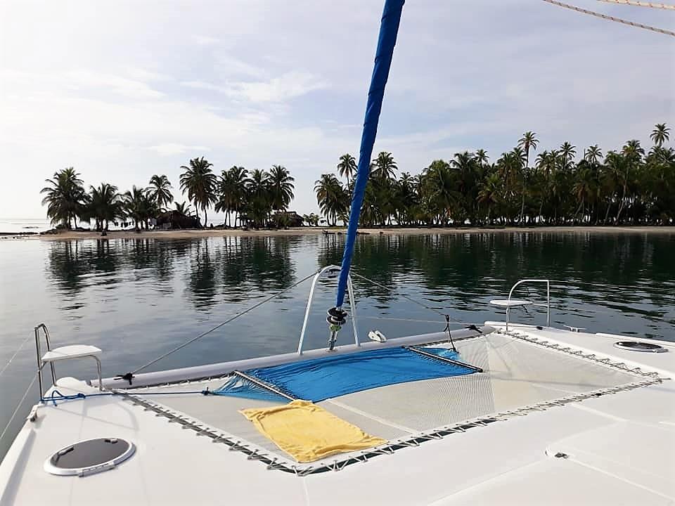 Zenith II catamaran trampoline