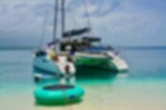 San Blas Sailing Roca Family navegando en SanBlas with kids charter
