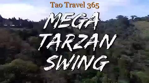 Mega Tarzan Swing in Monteverde Costa Rica