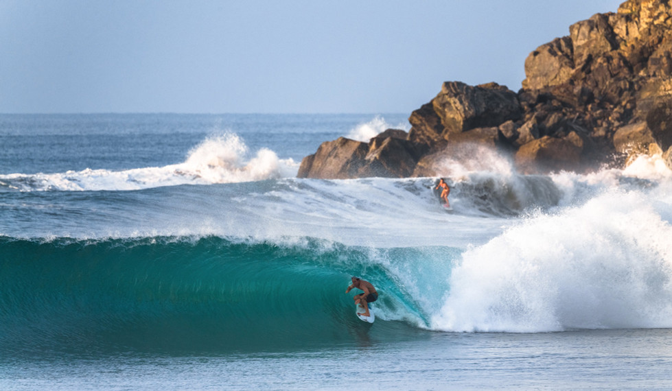 Salina Cruz Surf Camp perfect right point breaks Mexico Barra de la Cruz
