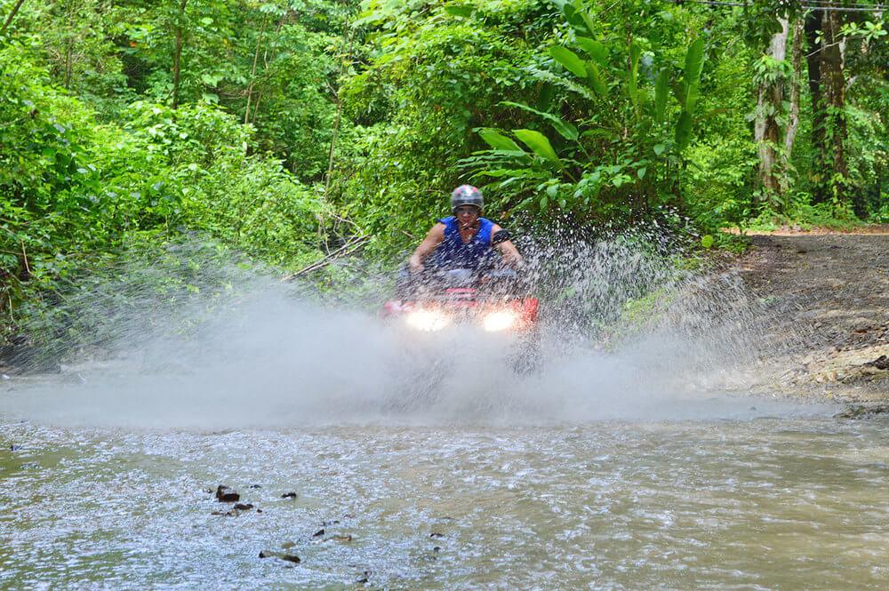Costa Rica ATV adventure group