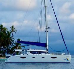 Zenith II catamaran San Blas island