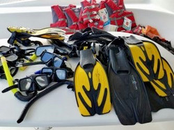 Zenith II San Blas Snorkel Equipment