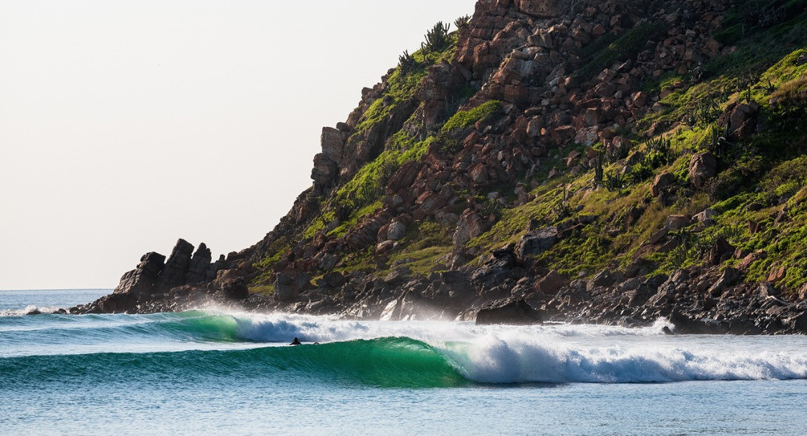 Salina Cruz Surf Camp and our guests enjoying waves all to themselves