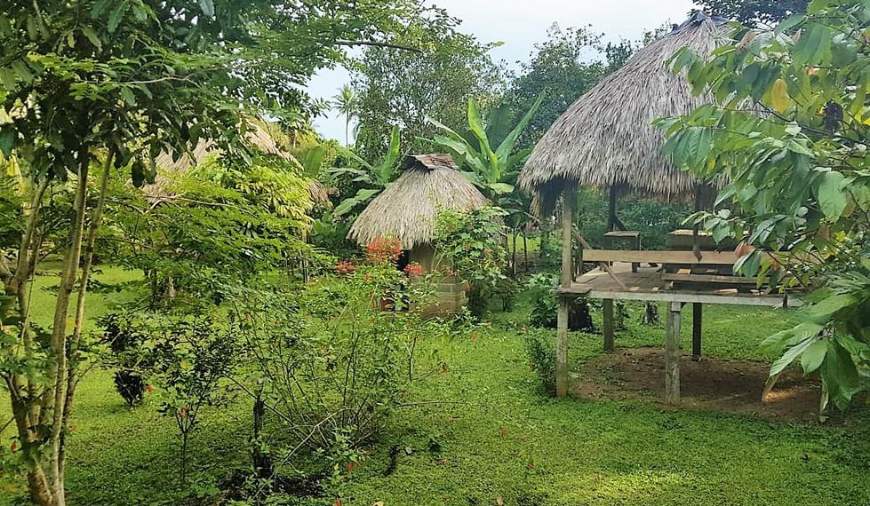 The La Chunga Eco Lodge with guest cabins
