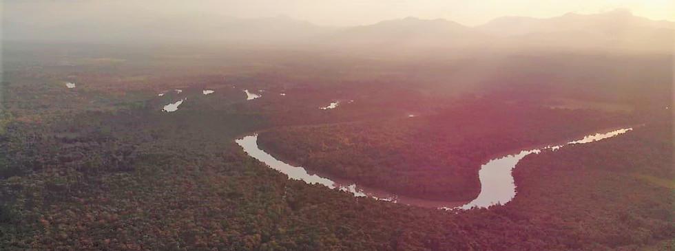 Darian Gap Jungle expedition view of the Darien Gap