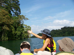 Panama adventure cruise with guides