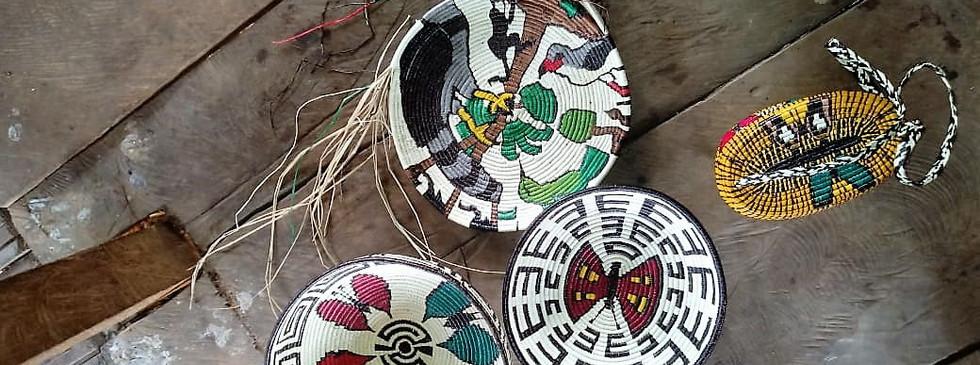Panama Darian Gap Jungle expedition and native handicraft