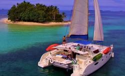 Zenith II Salina 48 in San Blas boat