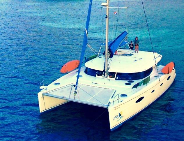 Zenith II catamaran San Blas Panama