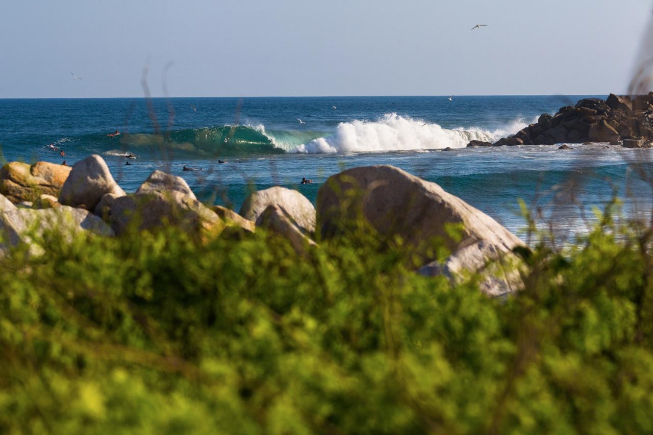 Salina Cruz Surf Camp perfect barrels at an uncrowded, pristine surf spot