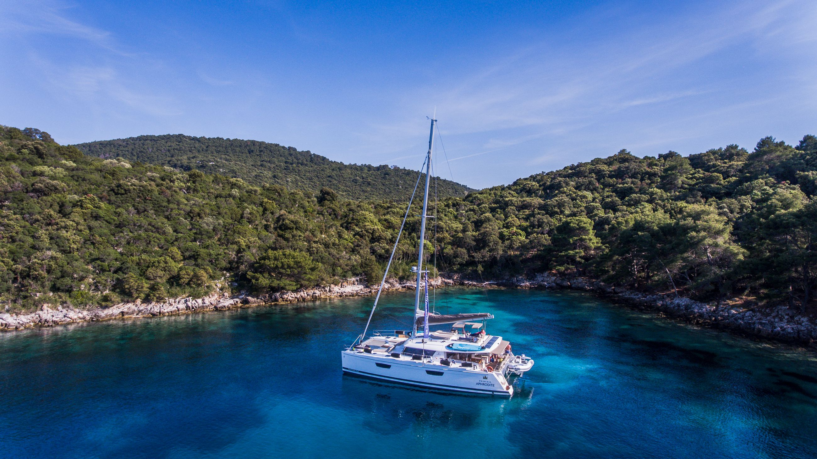 Croatia Catamaran sailing charter