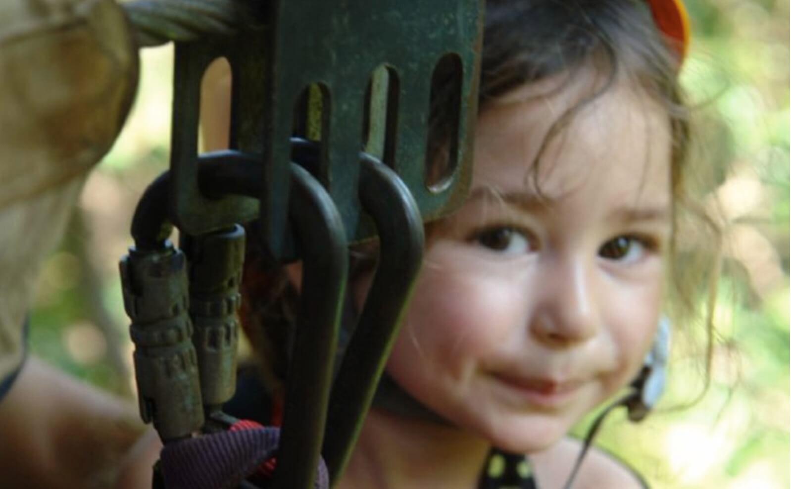 Tamarindo Guanacaste Costa Rica zipline canopy tour cute girl smiling