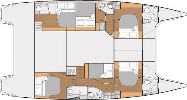 Saba 50 Croatia catamaran charter