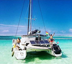 Catamaran San Blas happy guests
