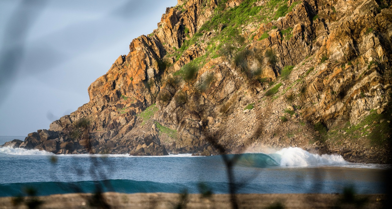 Salina Cruz Surf Camp perfect right point break spots in Mexico with no crowds