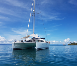 Catamaran l'Eclectic II in San Blas
