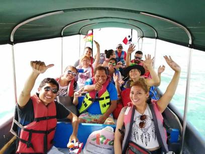 San Blas Day Tour guests having fun