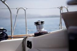 Queen Axiera winch in Croatia