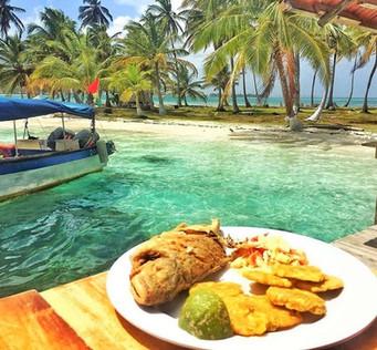San Blas Day Tour includes a fresh, tasty lunch