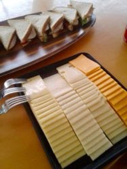Zenith II tasty cheese plate