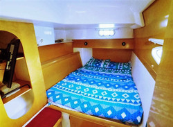 Lavezzi 40 forward berth stateroom
