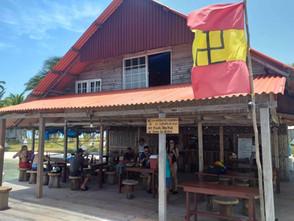 Restaurant on San Blas Day Tour