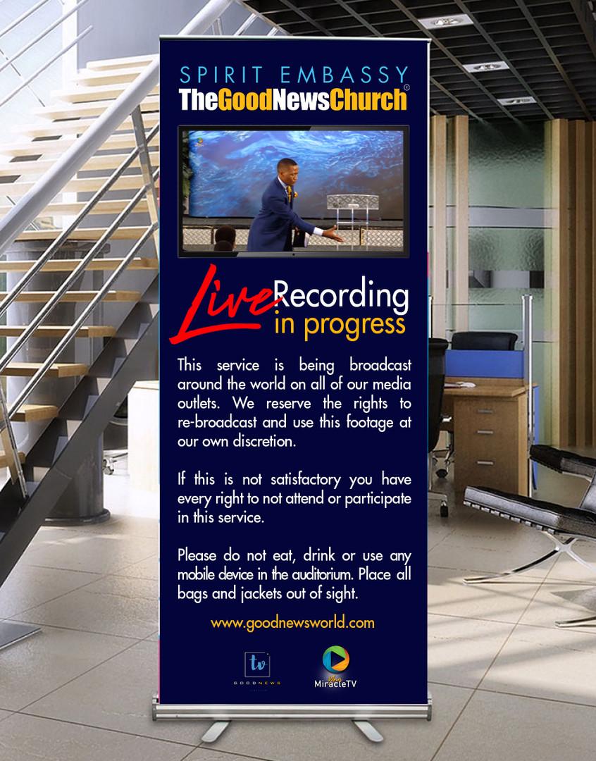 LIVE RECORDING roller banner concept 1.j