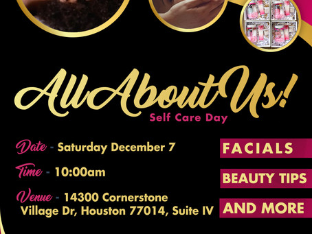 All About Us, Self Care Day