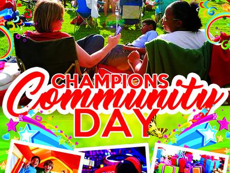 Champions Community Day