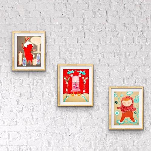 3 Originals Paintings / Special