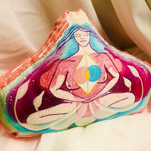 Vesica Pisces / Inspiration  by Goddesses  - Soft Sculpture