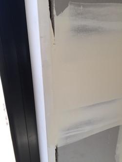 plaster on reveal