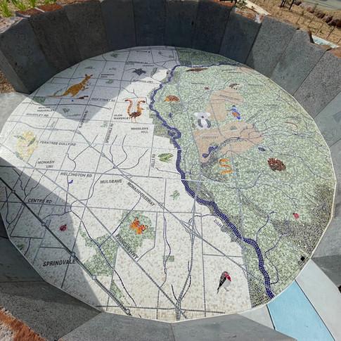 Jells Park playground mosaic