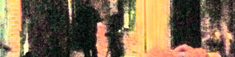 Brightened image showing possible figure