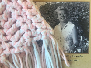 The safety net spreading over the earth is actually made by knitting our hearts together.