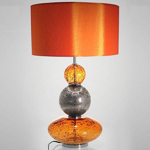 Lampe Volcanique 3B orange - Sélection Touzeau