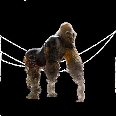 Gorille à dos argenté - Daum