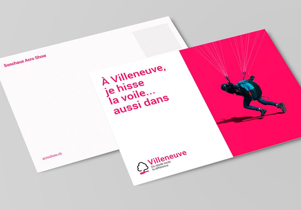 Carte postale pour Villeneuve
