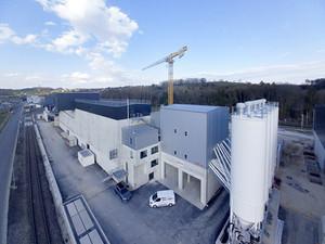 La centrale à béton BGO SA