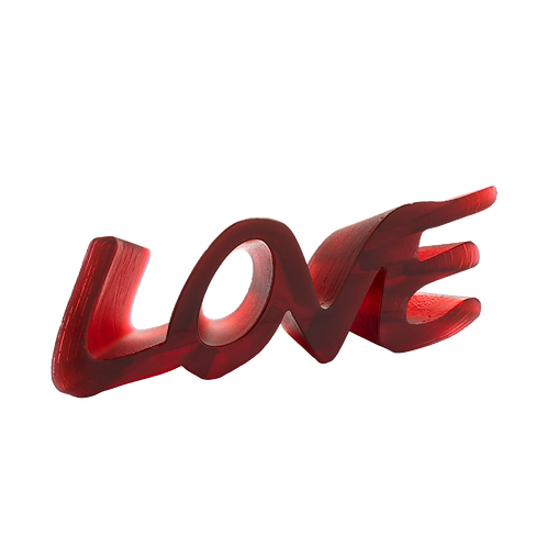 Sculpture True Love - Daum